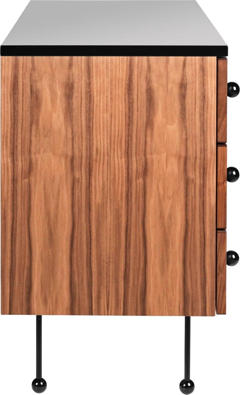 Danish Greta Magnusson Grossman Series 62 Three-Drawer Long Dresser For Sale