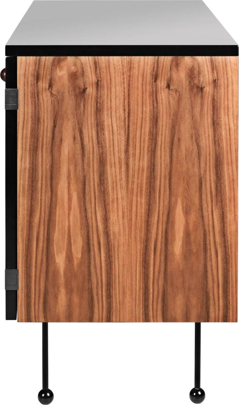 Powder-Coated Greta Magnusson Grossman Series 62 Three-Drawer Long Dresser For Sale