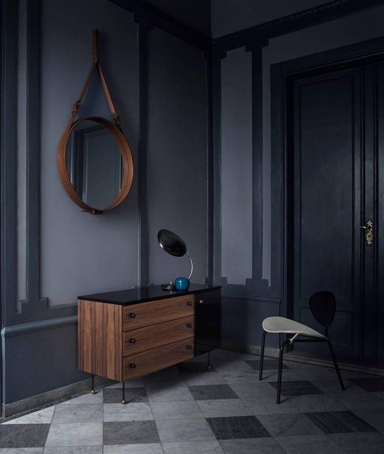 Steel Greta Magnusson Grossman Series 62 Three-Drawer Long Dresser For Sale