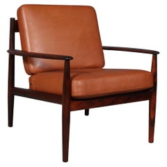 Grete Jalk Lounge Chair in Rosewood