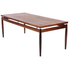 Grete Jalk Sofa Table, Model 622 / 54, in Rosewood. France & Son, 1960s