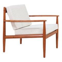 Grete Jalk Teak Lounge Chair for France & Søn