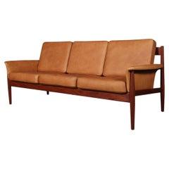 Grete Jalk Three Seat Sofa