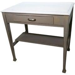 Grey and Milkwash Desk, USA