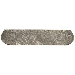 Grey and White Marble Tabletop