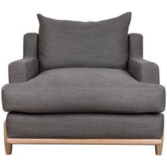 Grey George Chair by Brian Paquette for Lawson-Fenning