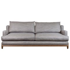 Grey George Sofa by Brian Paquette for Lawson-Fenning