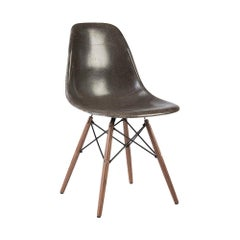 Grey Herman Miller Eames Vintage DSW Side Shell Chair
