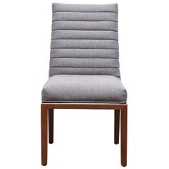 Grey Highback Shoreland Chair by Brian Paquette for Lawson-Fenning
