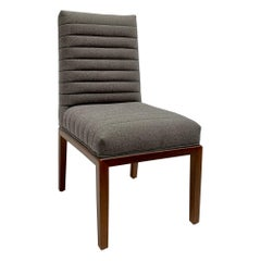 Grey Highback Shoreland Chair by Brian Paquette for Lawson-Fenning, in Stock