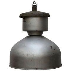 Grey Metal Vintage Industrial Pendant Lamp