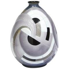 "Grey ""Primerose"" Vase"