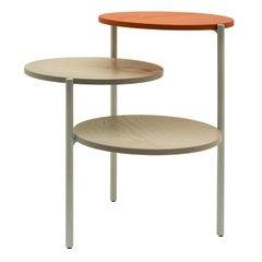 Grey & Pumpkin Triplo Table by Martina Bartoli