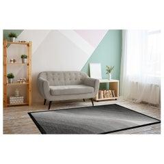 Grey Wool Area Rug