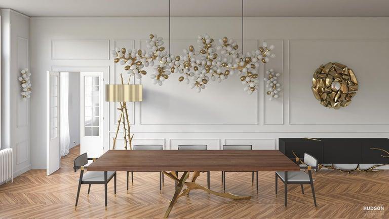 North American Grolier Table Hudson Furniture by Barlas Baylar For Sale