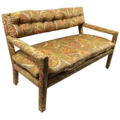 Groovy All Upholstered Bench by Classic Gallery Inc. After Baughman