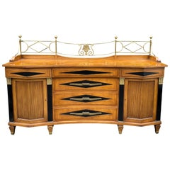 Grosfeld House Hollywood Regency Empire Credenza Buffet Server