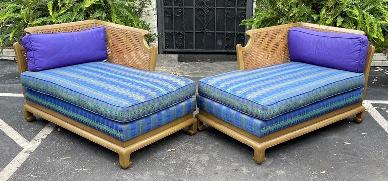 Mid-20th Century Grosfeld House Hollywood Regency Mid-Century Modern Chinese Chippendale Sofa For Sale