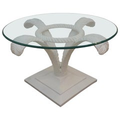 Grosfeld House Prince of Wales Plume Cocktail Table