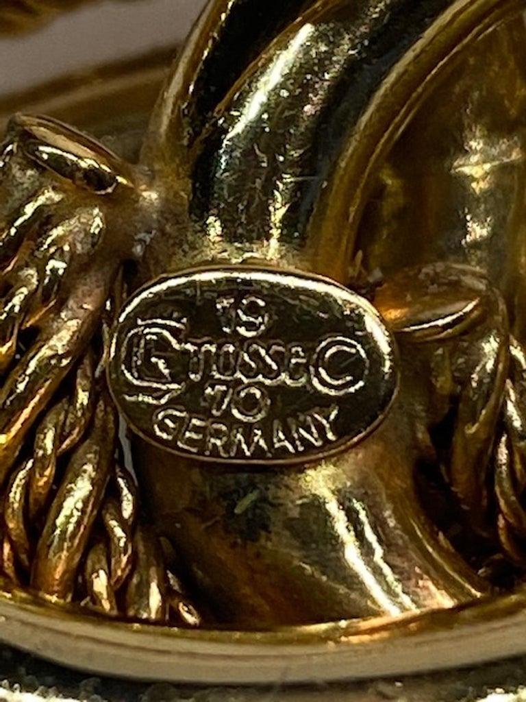 Grosse Germany 1970s Link Brooch For Sale 6