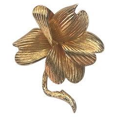 Grosse Germany Flower Brooch, 1962