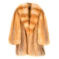 Grosvenor Canada for Harrods Ginger Fur Coat estimated size M