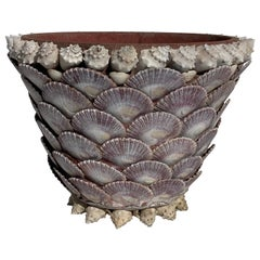 Grotto Sea Shell Planter