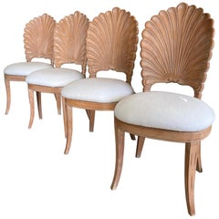 Grotto Shell Back Dining Chairs set of Four