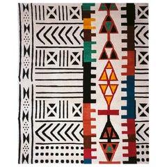Ground Line 3 Woollen Carpet by Nanda Vigo for Post Design Collection/Memphis
