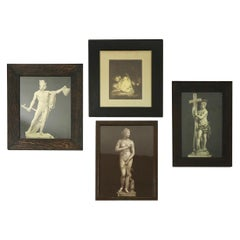 Group of 4 Turn of The Century Framed Classical Prints