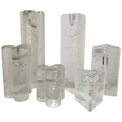 Group of 6 Arkipelago Candlesticks by Iittala