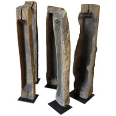 Group of 6 Mangeoires, Trough Sculptures