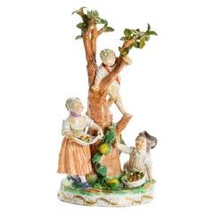 *B Group of Children under Tree