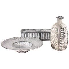 Group of Decorative Midcentury Vases by Hammershøj, 1940s, Danish Design