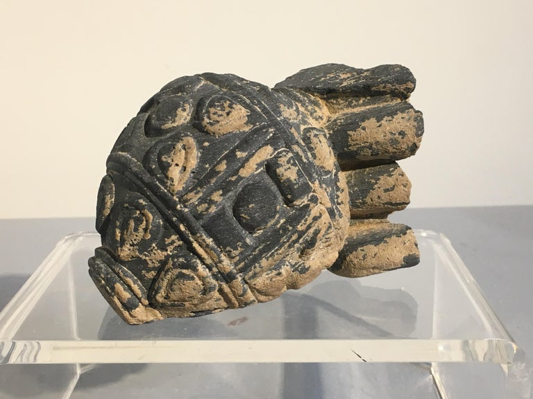 18th Century and Earlier Group of Gandharan Carved Schist Sculptural Fragments, 3rd-5th Century For Sale