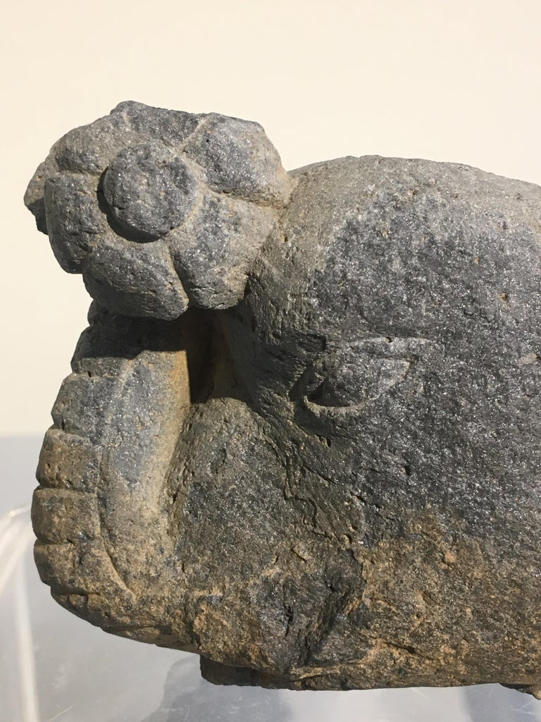 Group of Gandharan Carved Schist Sculptural Fragments, 3rd-5th Century For Sale 3