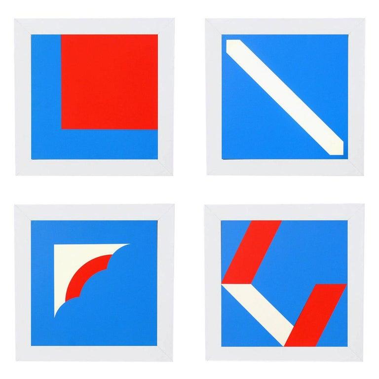 Group of Modernist Serigraphs by Ellsworth Kelly et al