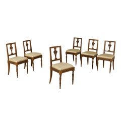 Group of Six Neoclassical Chairs