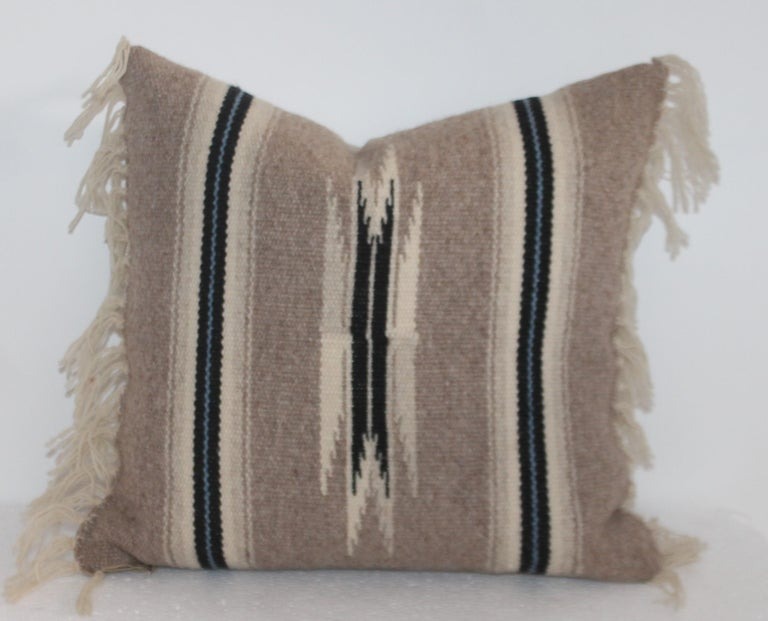 Adirondack Group of Small Mexican Pillows 6 For Sale