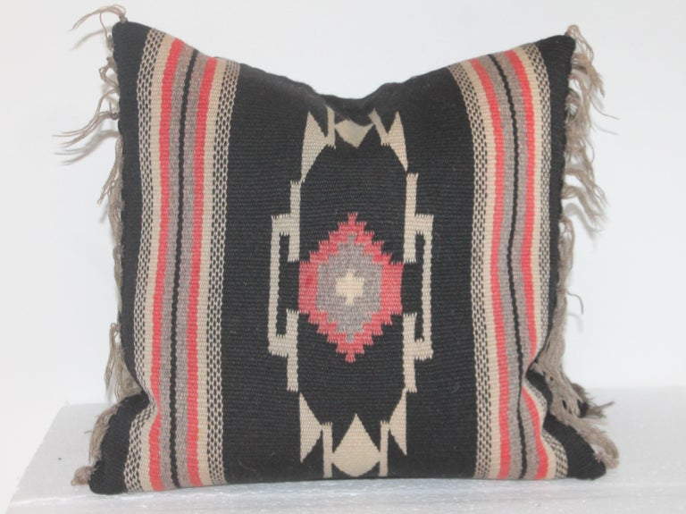 Hand-Crafted Group of Small Mexican Pillows 6 For Sale