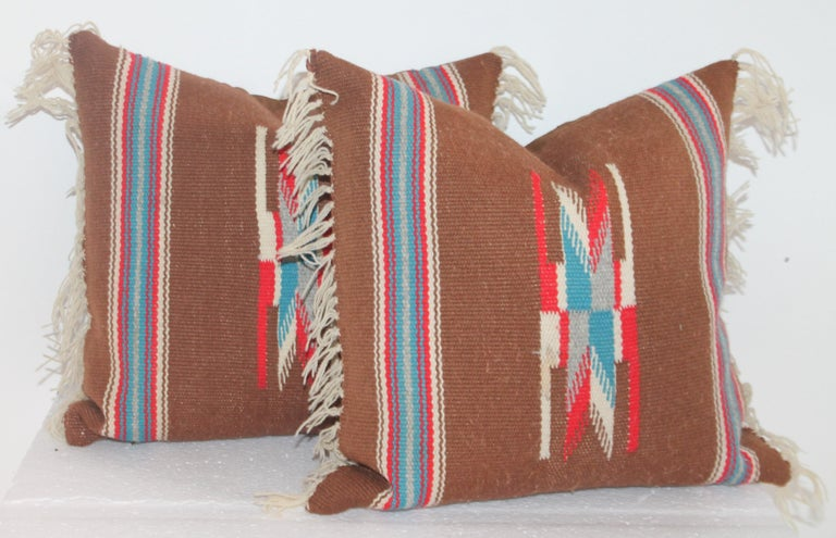 Group of Small Mexican Pillows 6 In Good Condition For Sale In Los Angeles, CA