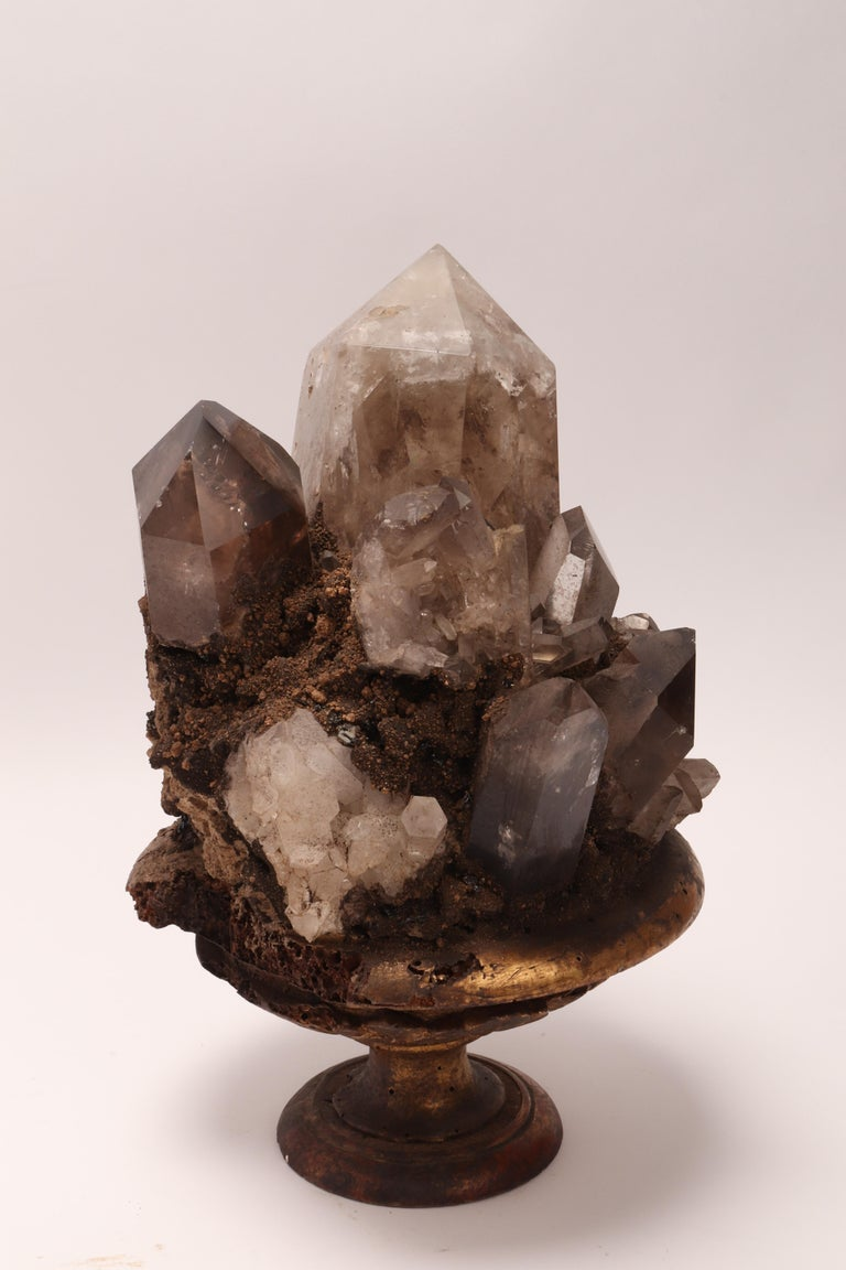 Group of Smoke Crystals, Italy, 1880 In Excellent Condition For Sale In Milan, IT