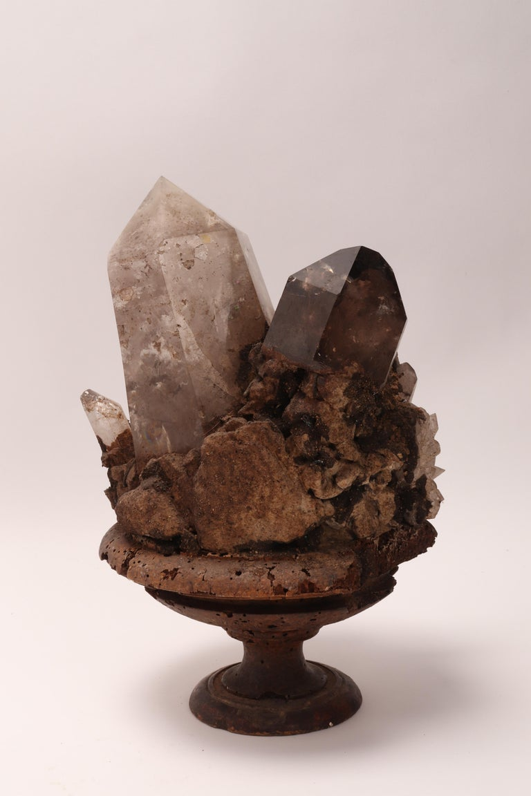 Group of Smoke Crystals, Italy, 1880 For Sale 1