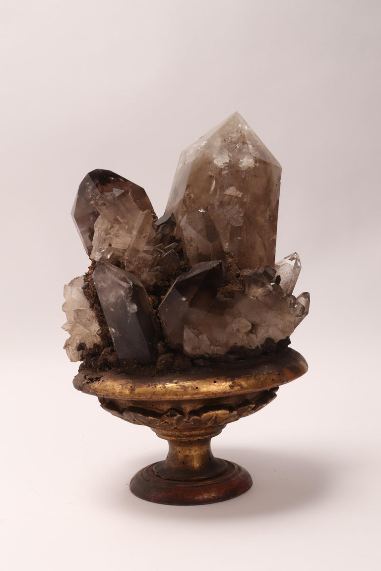 Group of Smoke Crystals, Italy, 1880 For Sale 2