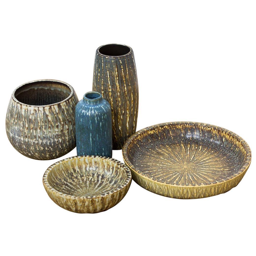 Group of Swedish Ceramics by Gunnar Nylund for Rörstrand