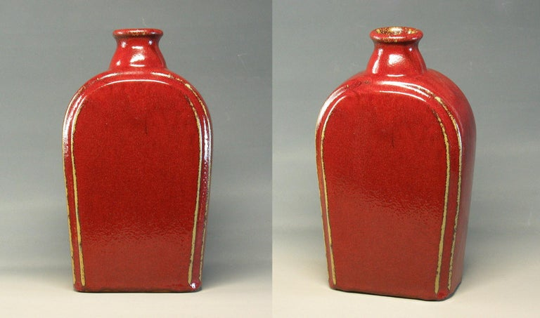 German Group of Three 20th Century Art Pottery Pieces For Sale