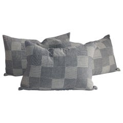 Group of Three Patchwork Pillows, 3