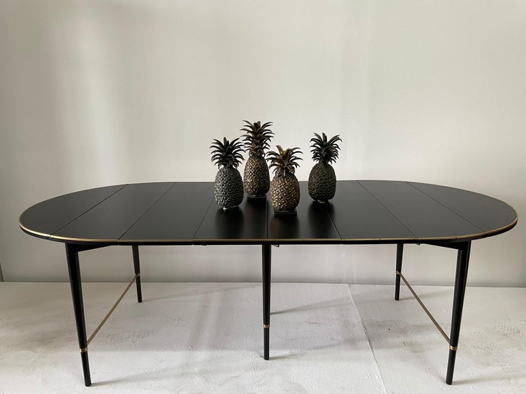 Grouping of 4 Vintage Lost Wax Bronze Pineapple Sculptures from Ivory Coast For Sale 5