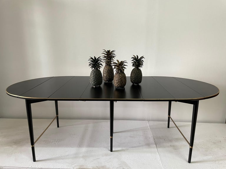 These pineapples were made from the lost wax process in late 20th C. Pineapples are a traditional Western symbol of welcome.  Dimensions:  #1 = 16 inches tall 5.5 inches diameter #2 = 13.5 inches tall, 5.5 inches diameter #2 = 13.5 inches tall,