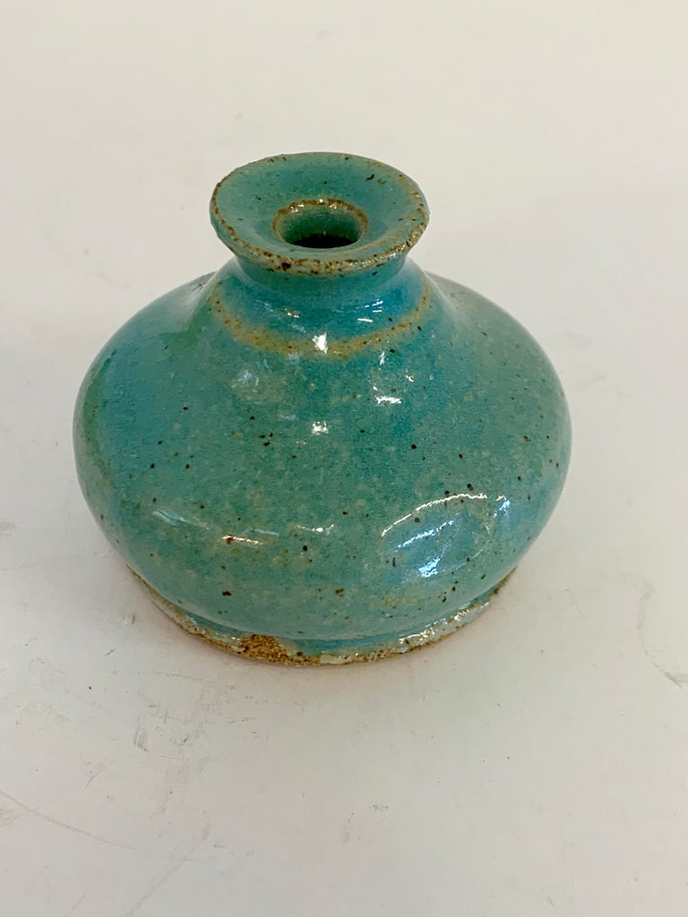 Grouping of Miniature Art Pottery Vessels For Sale 4